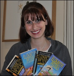 LindsayGriffithswithPeabodybooks thumb Books set in Egypt   Ancient Mysteries Solved