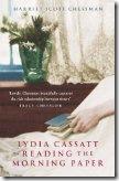 Lydia Cassatt Reading The Morning Paper by Harriett Scott Chessman